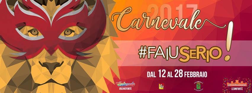 Programma del Carnevale edizione 2017