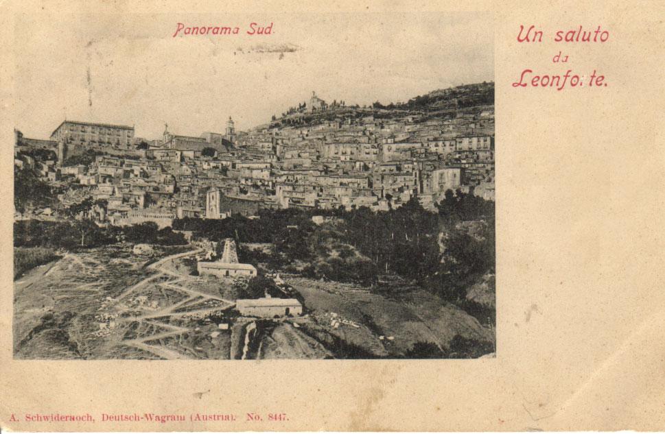 Panorama sud
