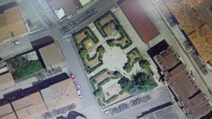 Foto aerea piazza Europa