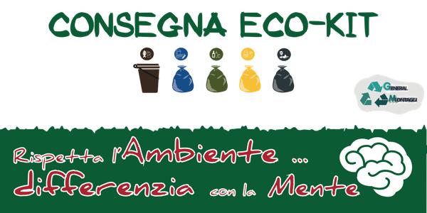 Consegna Eco-kit per la raccolta differenziata