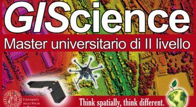 """Master interdipartimentale di II livello in """"GIS e droni"""" presso l'Università di Padova"""