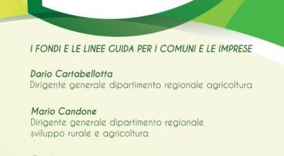 """Convegno """"La Riprogrammazione dei Fondi del PSR Sicilia"""""""