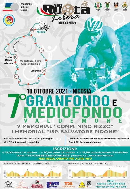 """Ordinanza contingibile ed urgente per il passaggio della gara ciclistica competitiva """"VII Granfondo e Mediofondo Valdemone"""""""
